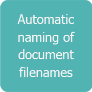Automatic naming of document filenames
