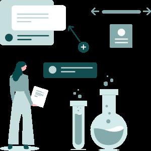 Lady designing SharePoint Intranet