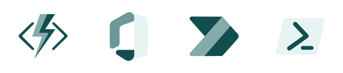 Project management flow technology logo